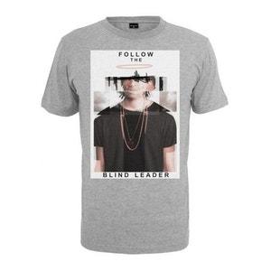 T-shirt Mister Tee Follow The Blind Leader Blanc MISTER TEE