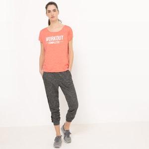 Camiseta amplia con mensaje R essentiel