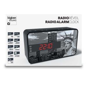 Radio Réveil FM  Affichage LED Motif Liberty BIG BEN