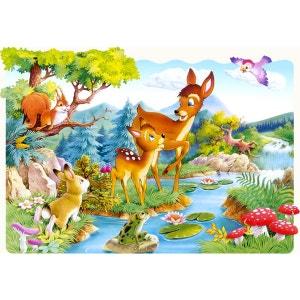 Puzzle 20 pièces maxi : Petit cerf CASTORLAND