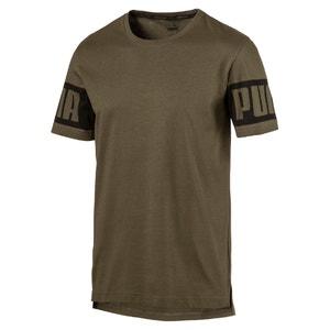 T-shirt con scollo rotondo tinta unita, maniche corte PUMA