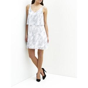 Платье с рисунком без рукавов VILA