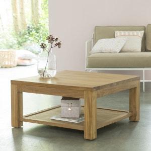 Table basse en bois de teck 80x80 Eve TIKAMOON