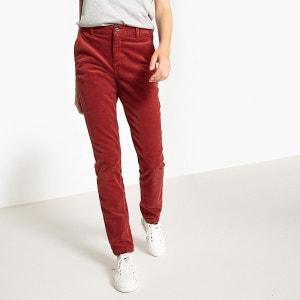 Pantalon chino velours La Redoute Collections