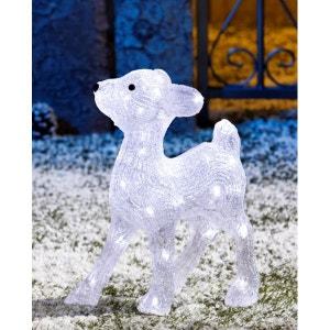 Biche debout acrylique lumineux - 40 LED - Décoration de Noël extérieur ! NONAME