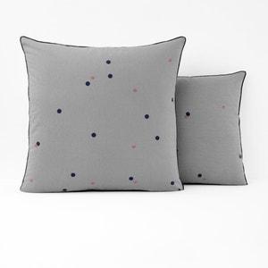 Taie d'oreiller imprimée métis lin et coton AYANNA La Redoute Interieurs