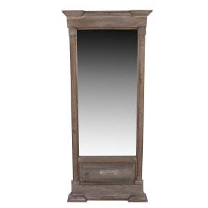 miroir encadrement bois la redoute. Black Bedroom Furniture Sets. Home Design Ideas