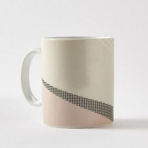 Bedrukte mug in porselein, set van 4 La Redoute Interieurs