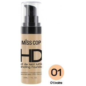 Fond de Teint Lumière HD Miss Cop - 01 Ivoire MISS COP