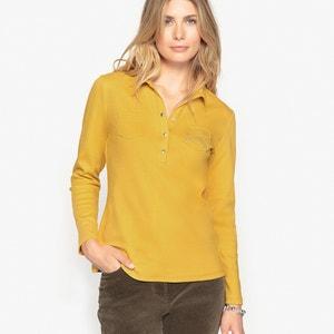 Camiseta con cuello polo, 100% algodón peinado ANNE WEYBURN