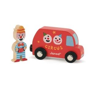 Story : Set Circus - Camionnette et Clown JANOD