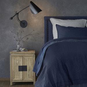 Cabecero de cama de lino lavado Al. 115 cm, Yliana