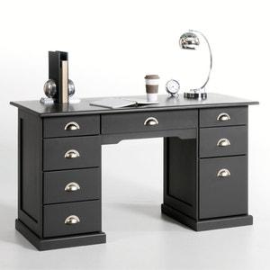 Betta Solid Pine Desk La Redoute Interieurs
