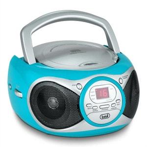 CMP 512 Lecteur CD radio AM/FM AUX -turquoise TREVI