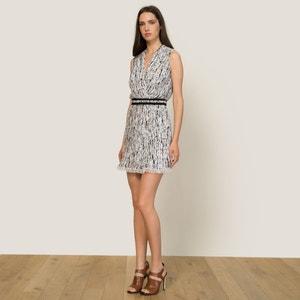 Kleid, bedruckter Georgette CARVEN
