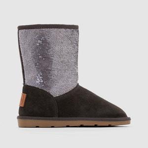 Anetta Fur-Lined Ankle Boots LES TROPEZIENNES PAR M.BELARBI