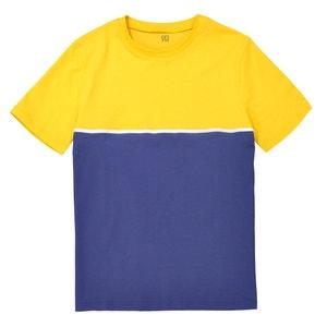 T-shirt z okrągłym dekoltem color block La Redoute Collections