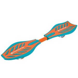 Skateboard articulé : RipStik Caster Board orange et bleu RAZOR