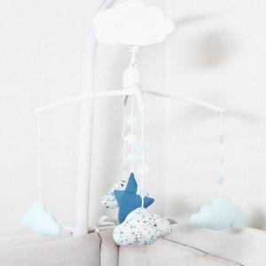 Mobile Bébé Musical nuages bleus NANELLE
