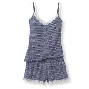 Pijama curto estampado LOUISE MARNAY