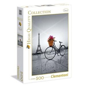 Puzzle 500 Pièces - Promenade Romantique Paris - CLE35014.8 CLEMENTONI