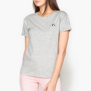 Plain Short-Sleeved V-Neck T-Shirt MAISON SCOTCH