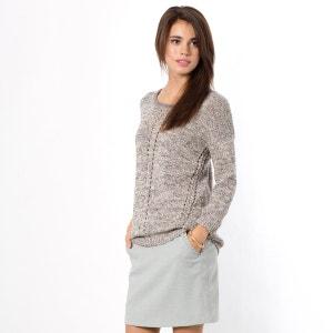 Pullover mit 3/4-Ärmeln, Metallic-Effekte COLOR BLOCK