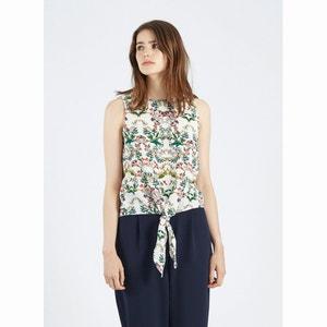 Gebloemde blouse zonder mouwen, Juniper COMPANIA FANTASTICA