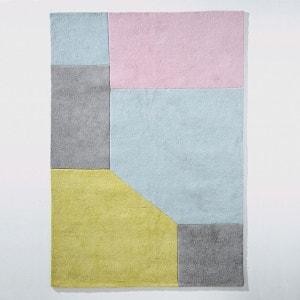 Tapis coton tufté graphique, 2 tailles, Dario La Redoute Interieurs