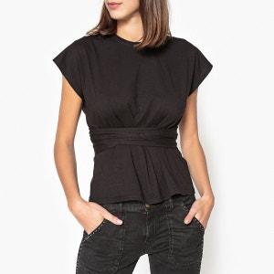 Tee shirt avec lien à la taille CONFIDENT BA&SH