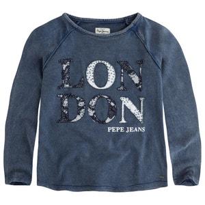 Sweater met used effect 8-16 jr PEPE JEANS