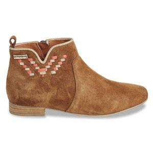 Platine Leather Ankle Boots LES TROPEZIENNES PAR M.BELARBI