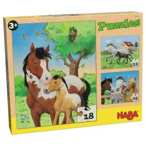 Puzzles Chevaux HABA