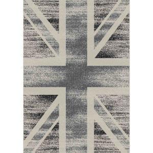 Tapete bandeira britânica, vintage, Danket La Redoute Interieurs
