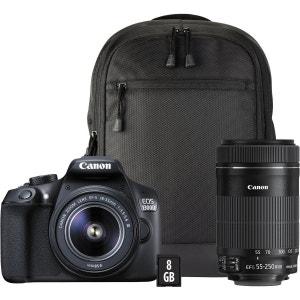 Reflex CANON EOS 1300D 18-55mm+55-250mm+ CANON