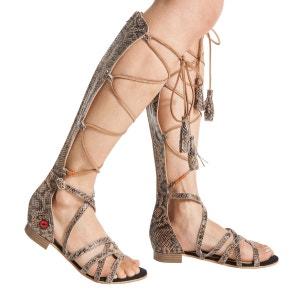 Sandales hautes Annie à lacets BONS BAISERS DE PANAME