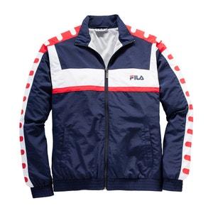 Straight Cut Zip-Up Jacket