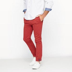 Spodnie chino ze stretchem dopasowany krój CASTALUNA FOR MEN