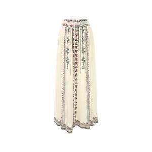 Plain Straight Maxi Skirt RENE DERHY