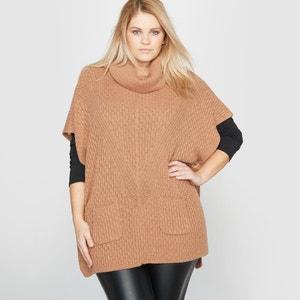 Cowl Neck Poncho Jumper/Sweater CASTALUNA
