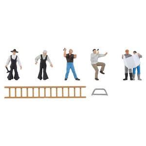 Modélisme HO : Figurines : Rénovations de bâtiments PLAY TRAIN FALLER