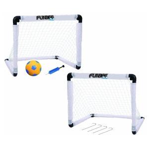Cages de football : Double cage de foot Funbee DARPEJE
