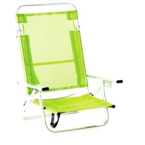 fauteuil pliant plage la redoute. Black Bedroom Furniture Sets. Home Design Ideas
