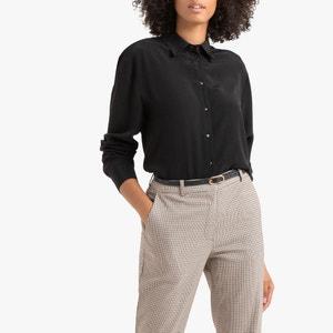 Soepele blouse, lange mouwen