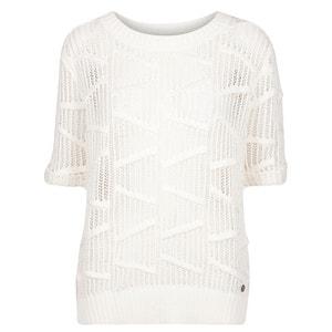 Short-Sleeved Openwork Jumper/Sweater NUMPH