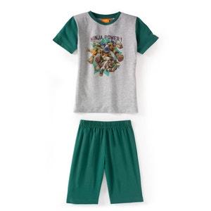Pijama con short estampado 2 - 12 años TORTUES NINJA