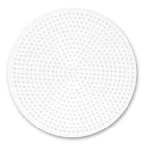 Plaque pour perles à repasser Hama Midi : Grande plaque ronde HAMA