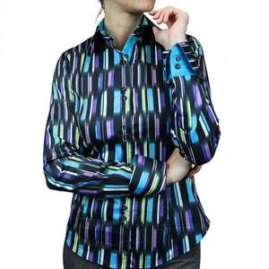 chemise imprimee cubiste ANDREW MAC ALLISTER
