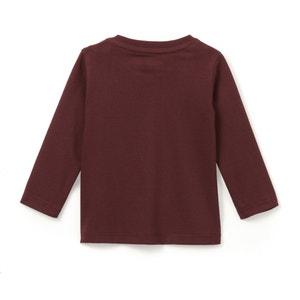 T-shirt bawełniany z długim rękawem 1 miesiąc  - 3 latka La Redoute Collections