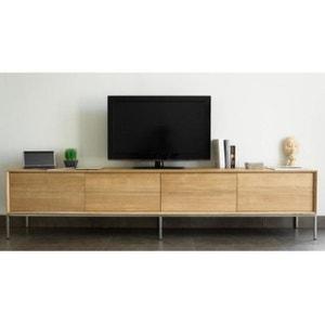 Meuble tv meuble tv design blanc d 39 angle en solde la for Meuble tv quilda